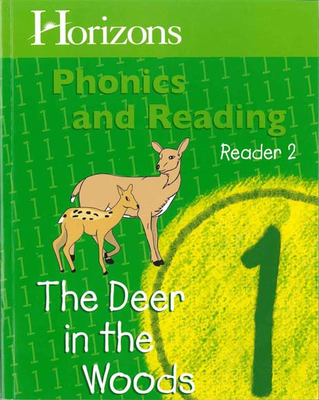 Horizons 1st Grade Phonics & Reading Student Reader 2: The Deer in the Woods from Alpha Omega Publications