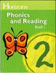 Horizons 2nd Grade Phonics & Reading Student Book 1 from Alpha Omega Publications