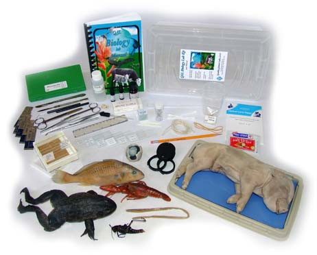 Biology Lab Kit with Specimens from Quality Science Labs