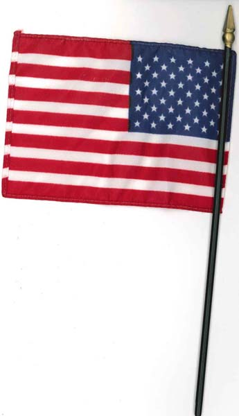 "4"" x 6"" American Flag from Accelerated Christian Education"