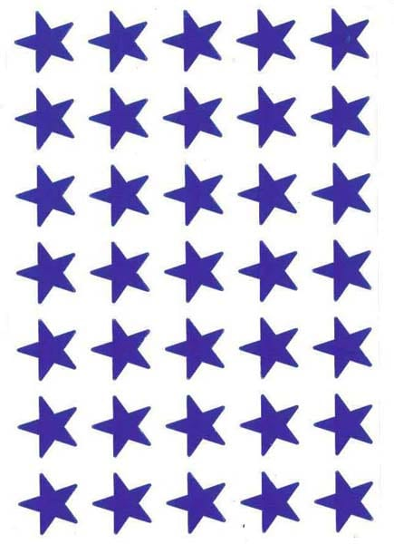 Blue Stars (280) from Accelerated Christian Education