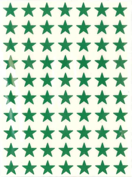 Green Stars (280) from Accelerated Christian Education