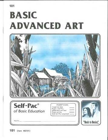 Advanced Art Unit 11 (Pace 107) from Accelerated Christian Education