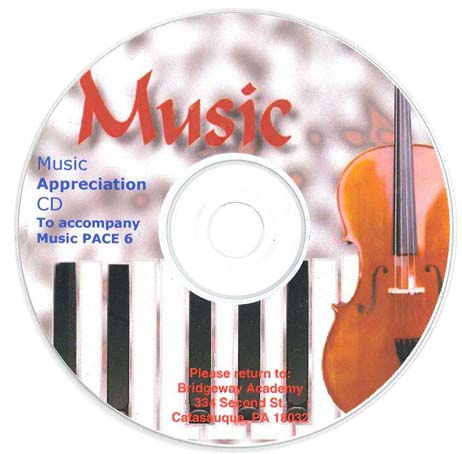 Music Appreciation CD