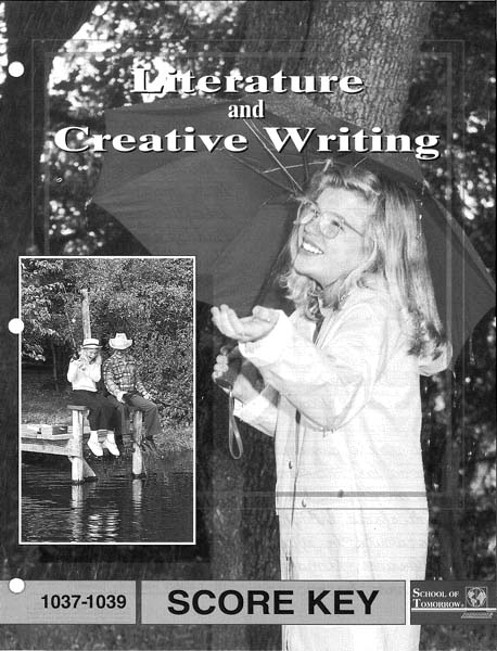 Literature and Creative Writing Answer Key 1037-1039