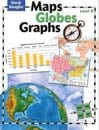 Maps, Globes and Graphs Level D Student Book by Steck-Vaughn