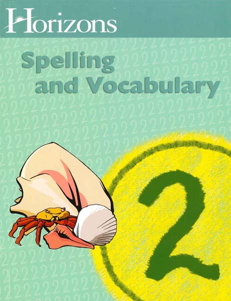 Horizons 2nd Grade Spelling & Vocabulary Student Book from Alpha Omega Publications