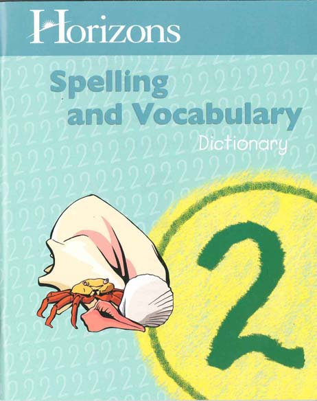 Horizons 2nd Grade Spelling & Vocabulary Dictionary from Alpha Omega Publications