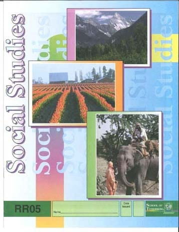 Reading Readiness Social Studies Pace 4 from Accelerated Christian Education