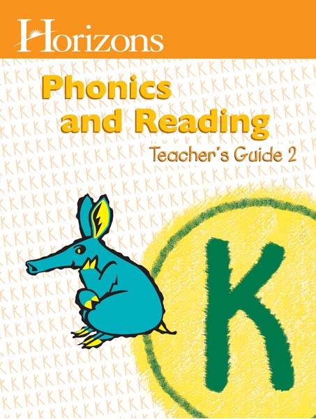 Horizons Kindergarten Phonics & Reading Teacher's Guide 2 from Alpha Omega Publications