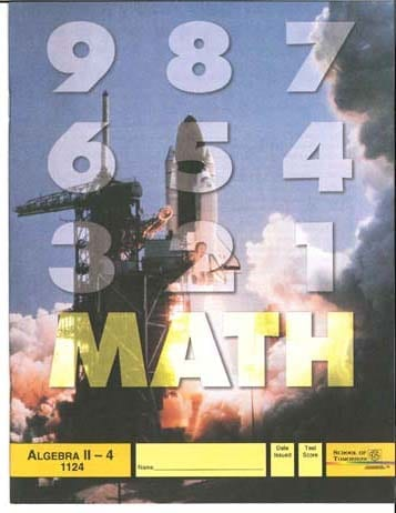 Algebra II Unit 4 (Pace 1124) (High School) from Accelerated Christian Education