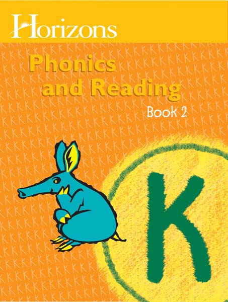 Horizons Kindergarten Phonics & Reading Student Book 2 from Alpha Omega Publications