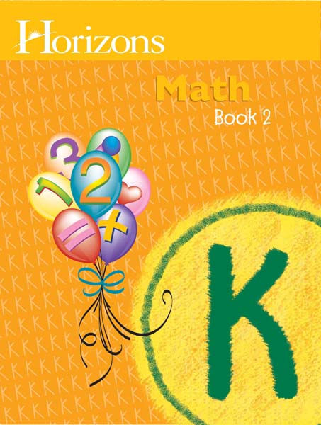Horizons Kindergarten Math Student Book 2 from Alpha Omega Publications