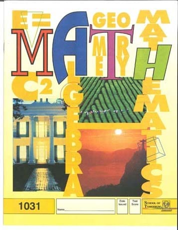 7th Grade Math Complete Course (4th Edition) from Accelerated Christian Education