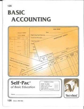 Accounting Pace 121