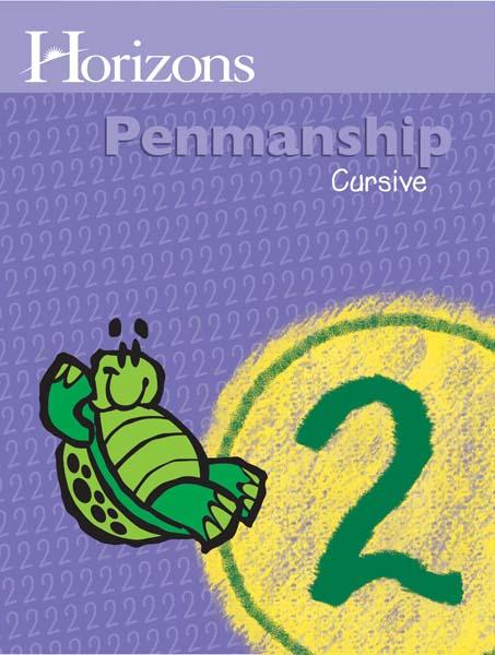 Horizons 2nd Grade Penmanship Student Book from Alpha Omega Publications