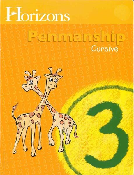 Horizons 3rd Grade Penmanship Student Book from Alpha Omega Publications