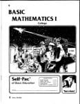 College Math 5 from Accelerated Christian Education