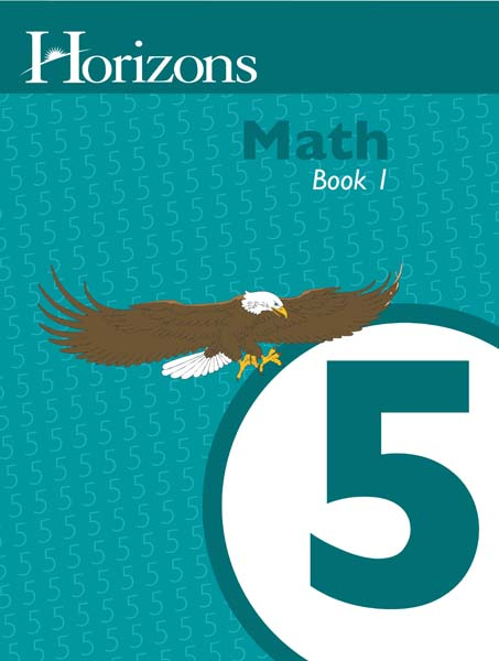 Horizons 5th Grade Math Student Book 1 from Alpha Omega Publications