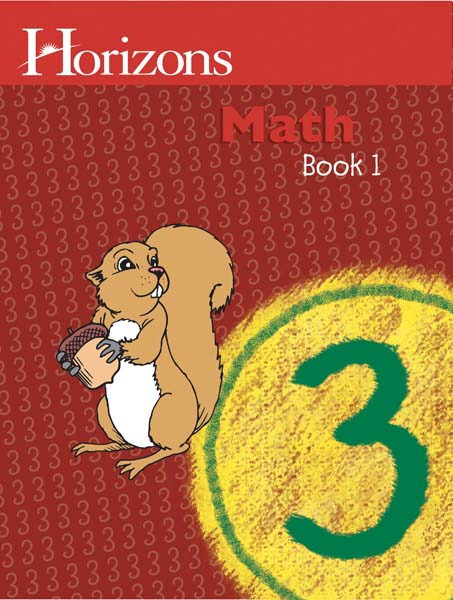 Horizons 3rd Grade Math Student Book 1 from Alpha Omega Publications