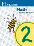 Horizons 2nd Grade Math Teacher's Guide from Alpha Omega Publications