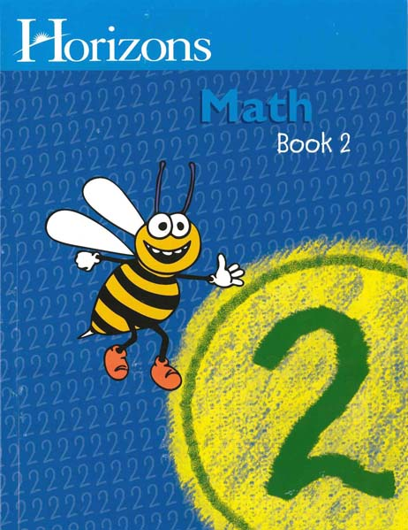Horizons 2nd Grade Math Student Book 2 from Alpha Omega Publications