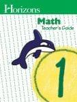 Horizons 1st Grade Math Teacher's Guide from Alpha Omega Publications