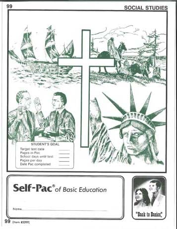 World History Unit 5 (Pace 101) (High School) from Accelerated Christian Education