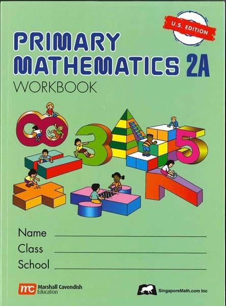 Primary Math Workbook 2A US Edition by Singapore Math