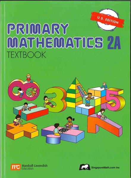 Primary Math Textbook 2A US Edition by Singapore Math