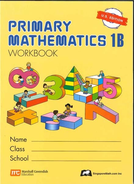 Primary Math Workbook 1B US Edition by Singapore Math