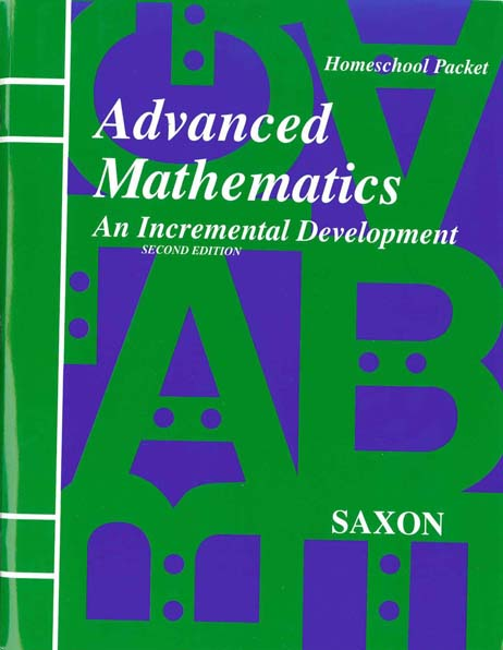 Advanced Mathematics Second Edition Homeschool Extra Tests from Saxon Math