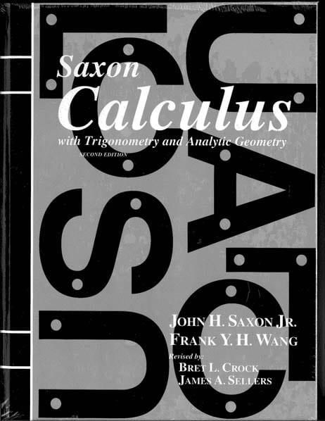 Calculus Homeschool Kit Second Edition from Saxon Math