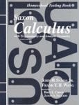 Calculus Homeschool Packet w/Test Forms from Saxon Math