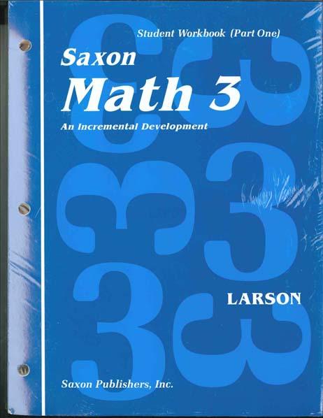 Math 3 Complete Homeschool Kit from Saxon Math