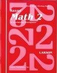 Math 2 Homeschool First Edition Student's Meeting Book from Saxon Math