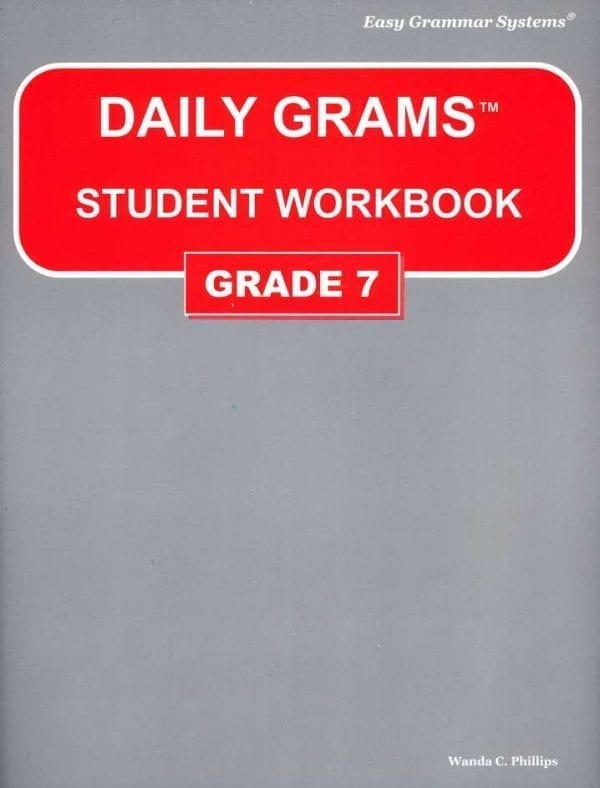 Daily Grams: Grade 7 Workbook from Easy Grammar Systems