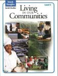 Living in our Communities Level C Student Book by Steck-Vaughn