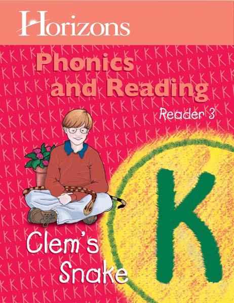 Horizons Kindergarten Phonics & Reading Reader 3: Clem's Snake from Alpha Omega Publications