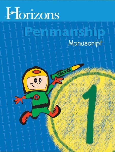 Horizons 1st Grade Penmanship Student Book from Alpha Omega Publications
