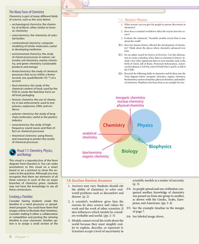 Chemistry Textbook Online