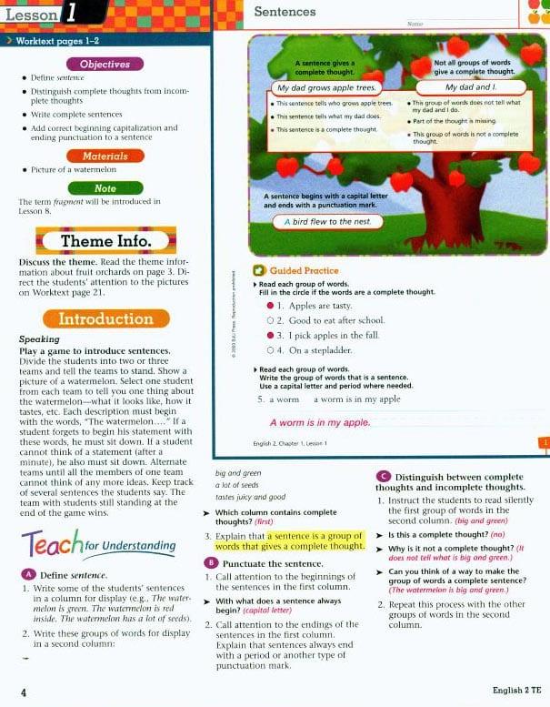 2nd Grade English Textbook Kit from BJU Press