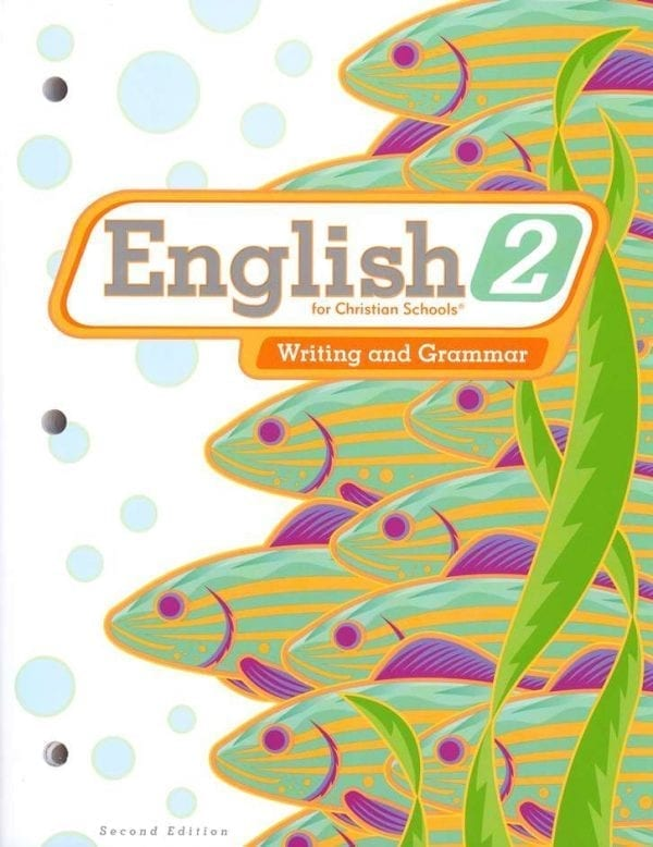 2nd Grade English Textbook Kit from BJU Press