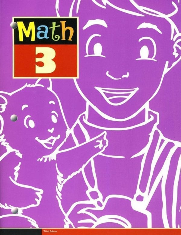 3rd Grade Math Textbook Kit by BJU Press