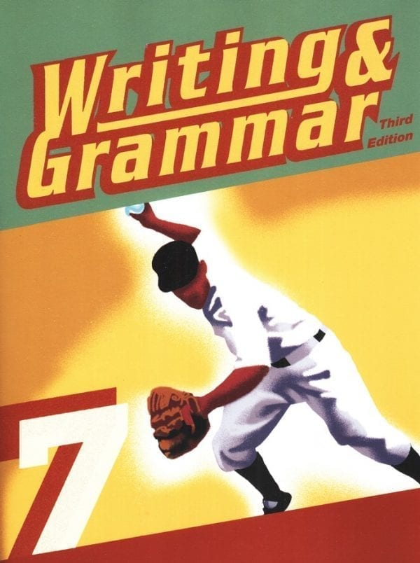 7th Grade Writing and Grammar Textbook Kit from BJU Press