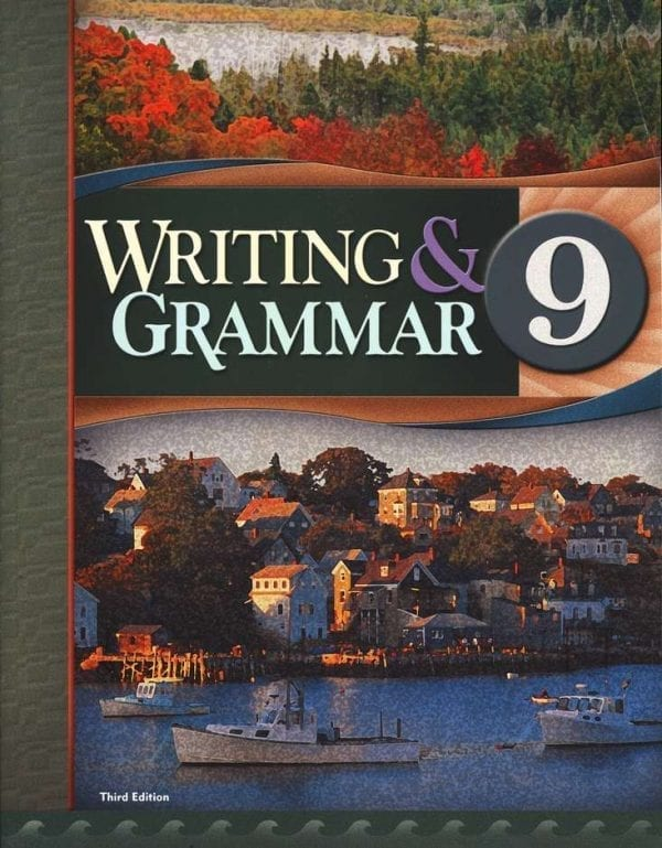 9th Grade Writing and Grammar Textbook Kit from BJU Press