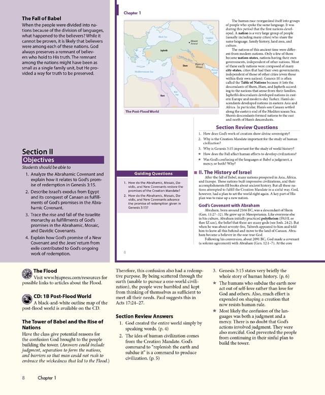7th Grade World Studies Textbook Kit from BJU Press