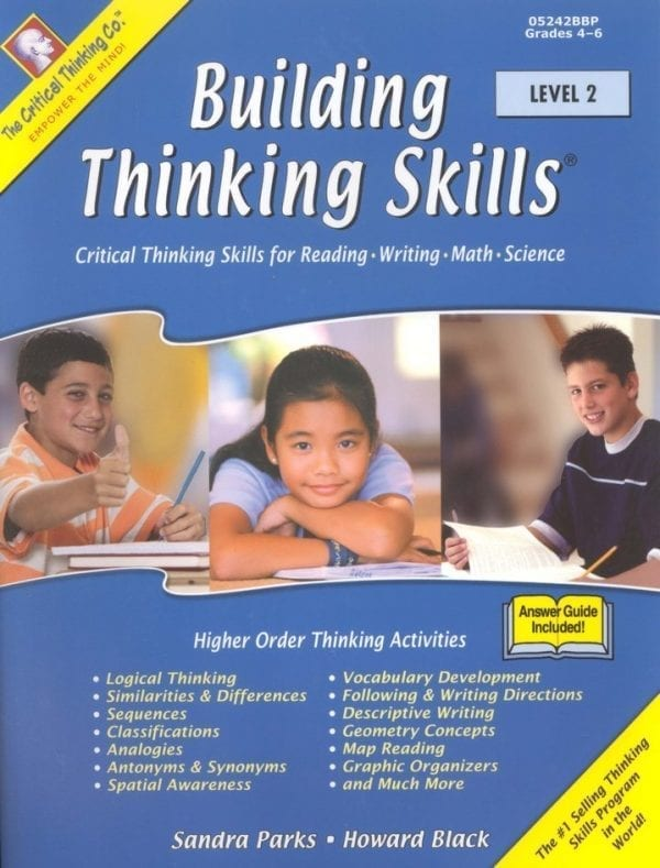 Building Thinking Skills: Level 2, Grades 4-6, from The Critical Thinking Company