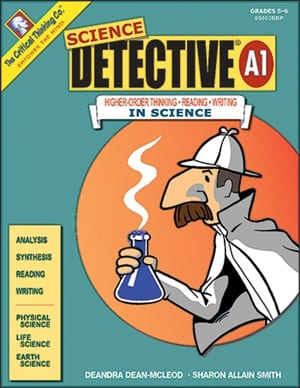 Science Detective A1, Grades 5-6, from The Critical Thinking Company