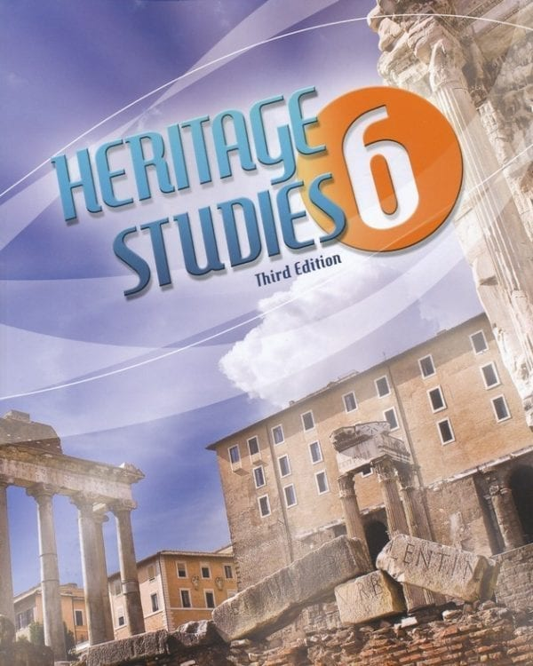 6th Grade Heritage Studies Textbook Kit 3rd Edition from BJU Press